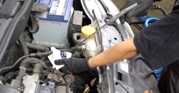 Как се сменя Запалителна бобина на OPEL Meriva A (X03) 1.6 (E75) 2006 самостоятелно