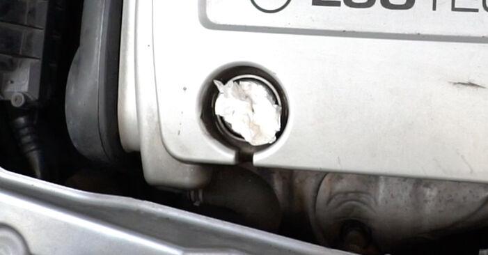 Не е трудно да го направим сами: смяна на Запалителна бобина на Opel Meriva x03 1.7 DTI (E75) 2009 - свали илюстрирано ръководство