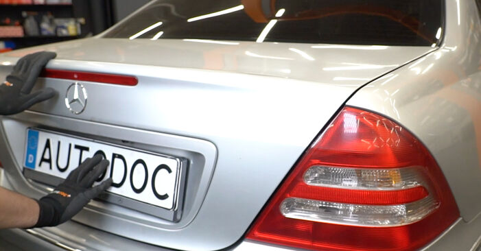 Wie Stoßdämpfer Mercedes W203 C 220 CDI 2.2 (203.006) 2000 tauschen - Kostenlose PDF- und Videoanleitungen