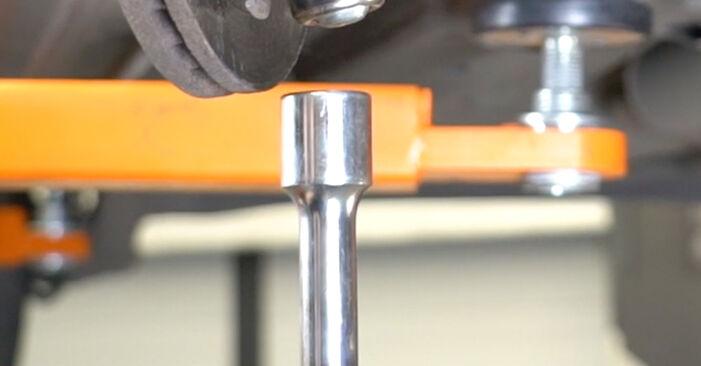 Combien de temps dure le remplacement : Bras de Suspension sur Opel Meriva A 2003 - manuel PDF informatif