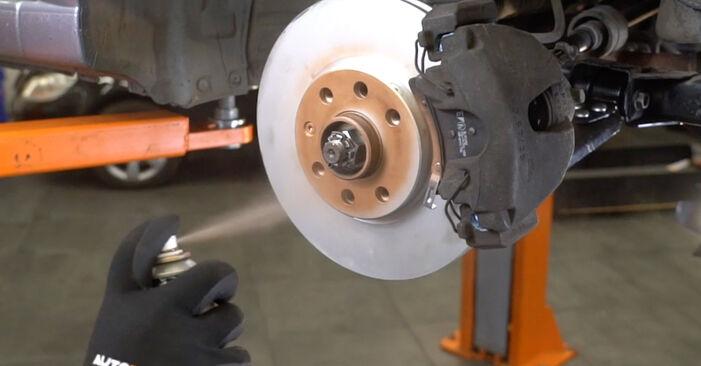 Remplacer Bras de Suspension sur Opel Meriva A 2005 1.7 CDTI (E75) par vous-même