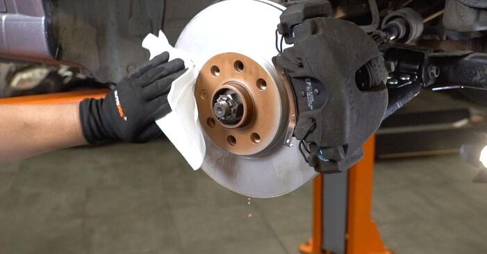 Meriva A (X03) 1.3 CDTI (E75) 2006 Bras de Suspension manuel d'atelier pour remplacer soi-même