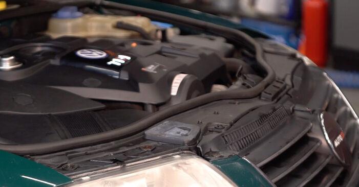 Wie Bremsscheiben beim Passat 3B6 1996 gewechselt werden - Unentgeltliche PDF- und Videoanweisungen