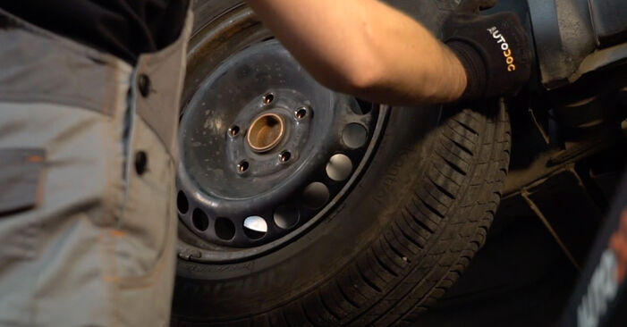 How to remove VW PASSAT 1.6 2000 Brake Discs - online easy-to-follow instructions