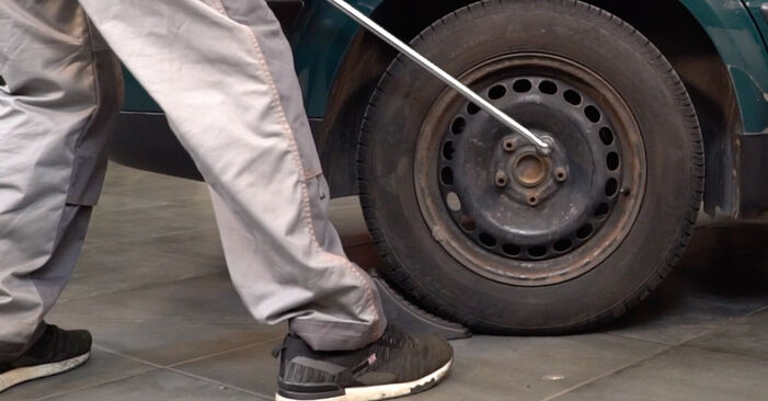 Passat 3B6 1.8 T 20V 1998 Brake Discs replacement: free workshop manuals
