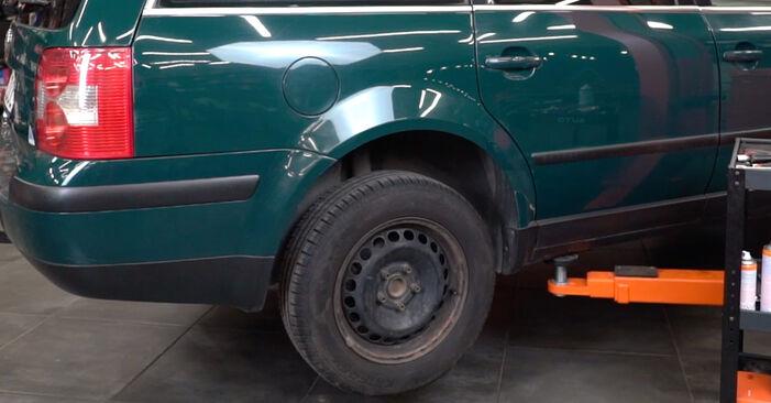 Schimbați Placute Frana la VW PASSAT Variant (3B6) 2.0 1999 de unul singur