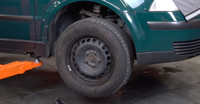 Spurstangenkopf Passat 3B6 1.9 TDI 4motion 1998 wechseln: Kostenlose Reparaturhandbücher