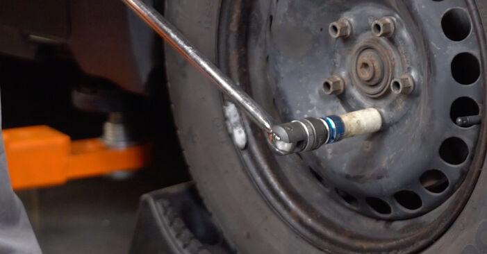 Passat 3B6 1.8 T 20V 1998 Brake Calipers replacement: free workshop manuals