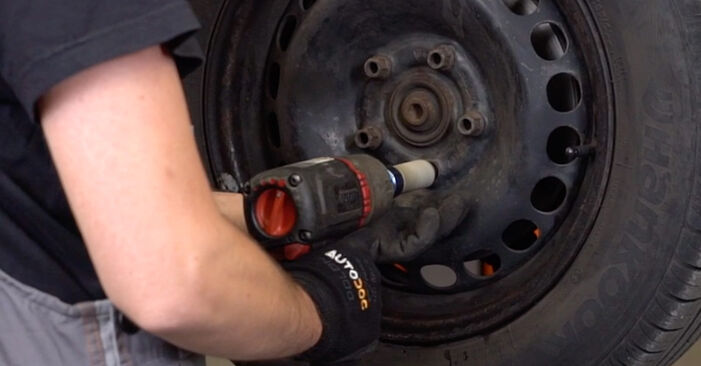 How to remove VW PASSAT 1.6 2000 Brake Calipers - online easy-to-follow instructions