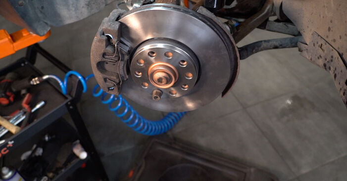 Changing of Brake Calipers on Passat 3B6 1998 won't be an issue if you follow this illustrated step-by-step guide