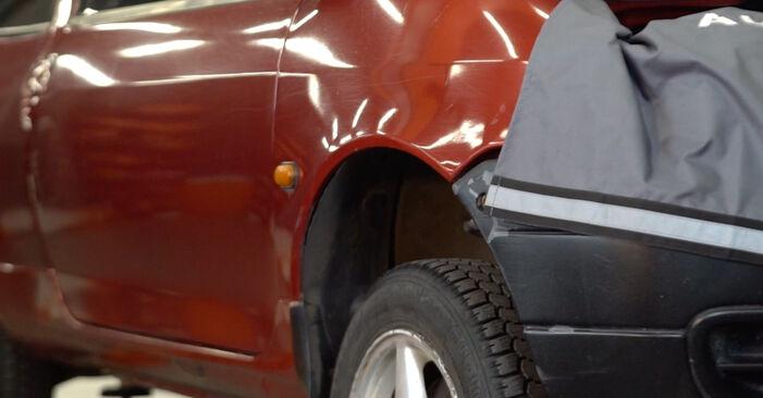 Wechseln Bremsscheiben am RENAULT TWINGO I (C06_) 1.2 LPG 1996 selber