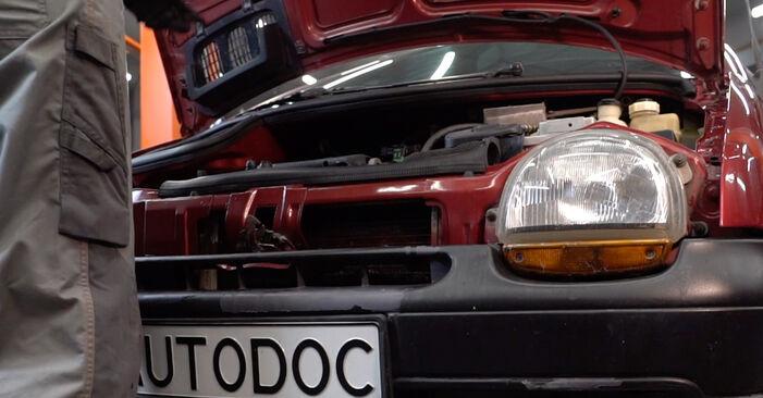 Wie Bremsbeläge Twingo c06 1.2 1993 tauschen - Kostenlose PDF- und Videoanleitungen