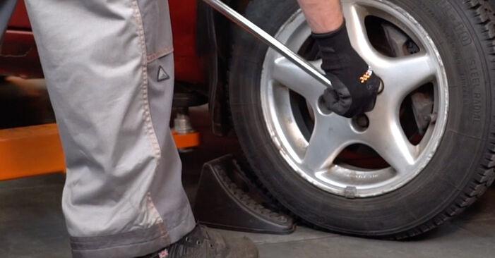 Bremsbeläge Twingo c06 1.0 1995 wechseln: Kostenlose Reparaturhandbücher