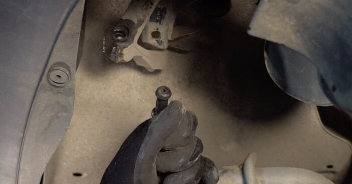 Replacing Control Arm on Touran 1t1 1t2 2005 1.9 TDI by yourself