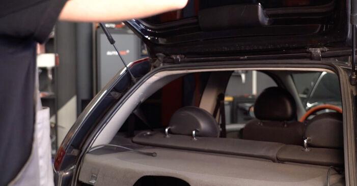 Comment changer Verin De Hayon sur Opel Corsa C 2000 - Manuels PDF et vidéo gratuits