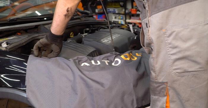 Keilrippenriemen Ihres Opel Corsa C 1.4 Twinport (F08, F68) 2008 selbst Wechsel - Gratis Tutorial
