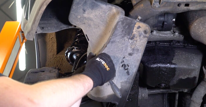 DIY replacement of Control Arm on OPEL Corsa C Hatchback (X01) 1.3 CDTI (F08, F68) 2004 is not an issue anymore with our step-by-step tutorial