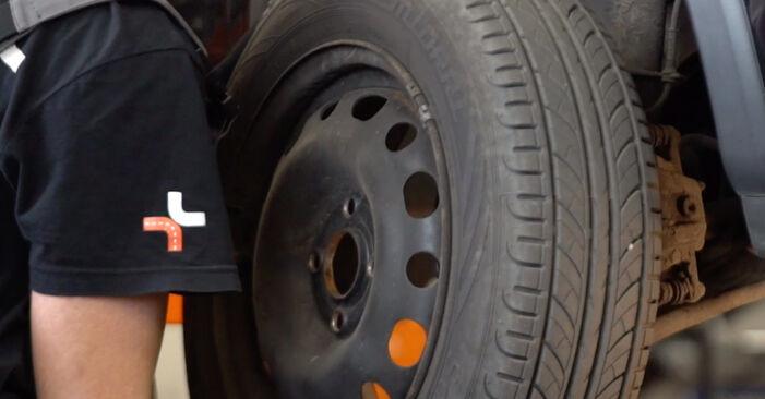 Cómo reemplazar Discos de Freno en un OPEL Corsa C Hatchback (X01) 2005: descargue manuales en PDF e instrucciones en video