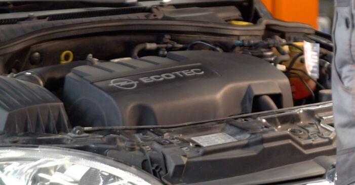 Wie Bremsbeläge Opel Corsa C 1.2 (F08, F68) 2000 tauschen - Kostenlose PDF- und Videoanleitungen