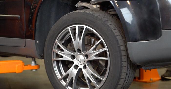 Wechseln Bremsscheiben am AUDI A4 Avant (8E5, B6) 1.8 T 2003 selber