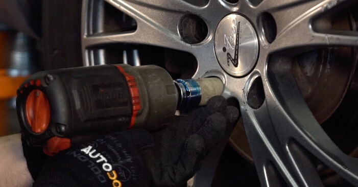 How to remove AUDI A4 2.5 TDI 2004 Brake Pads - online easy-to-follow instructions