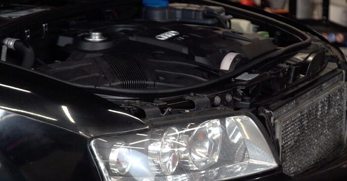 Wie Bremsbeläge Audi A4 B6 Avant 1.9 TDI 2000 tauschen - Kostenlose PDF- und Videoanleitungen