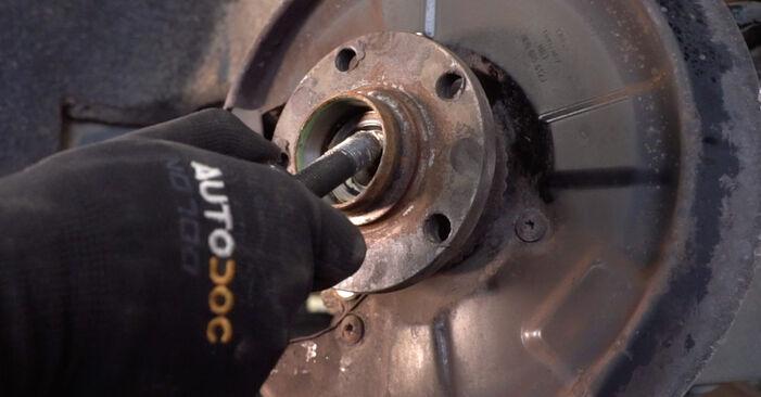 Radlager Audi A4 B6 Avant 1.9 TDI quattro 2002 wechseln: Kostenlose Reparaturhandbücher