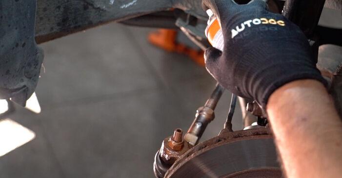 Spurstangenkopf beim RENAULT CLIO 1.9 D 2004 selber erneuern - DIY-Manual