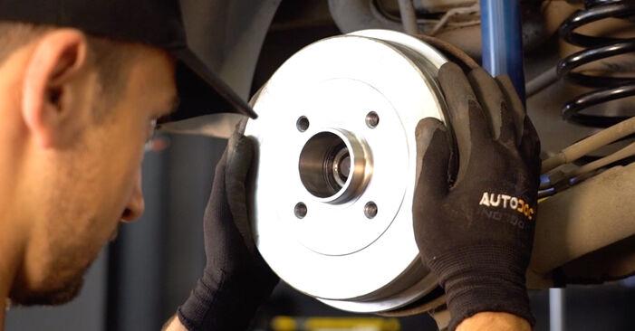 Renault Clio 2 2008 1.2 Rato guolis keitimas savarankiškai