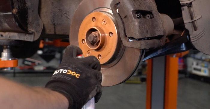 Tausch Tutorial Bremsscheiben am RENAULT CLIO II (BB0/1/2_, CB0/1/2_) 2010 wechselt - Tipps und Tricks