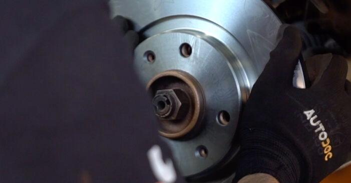 Bremsscheiben CITROËN C3 I (FC_) 1.1 i 2004 wechseln: Kostenlose Reparaturhandbücher
