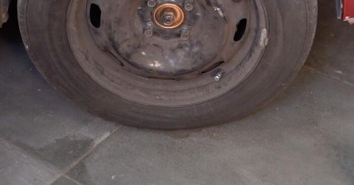 Αλλάζοντας Δαγκάνα φρένων σε CITROËN C3 I Hatchback (FC_, FN_) 1.6 16V 2005 μόνοι σας