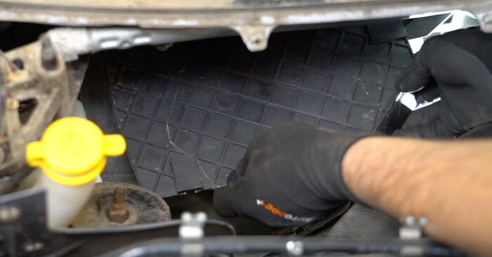 DIY replacement of Pollen Filter on OPEL Meriva A (X03) 1.4 16V Twinport (E75) 2009 is not an issue anymore with our step-by-step tutorial