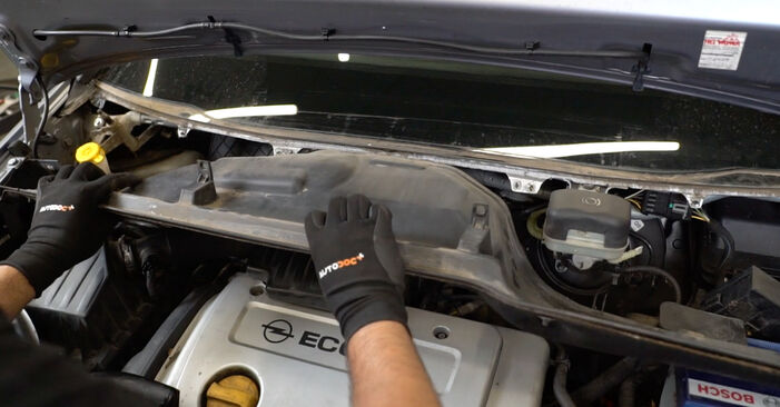 Need to know how to renew Pollen Filter on OPEL MERIVA ? This free workshop manual will help you to do it yourself