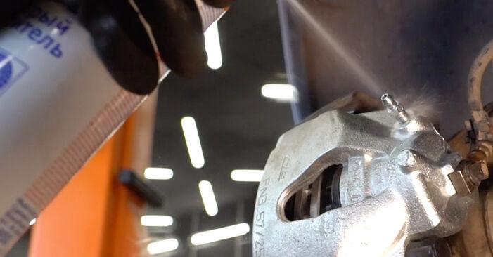 Wechseln Bremssattel am OPEL ZAFIRA B (A05) 1.6 (M75) 2008 selber