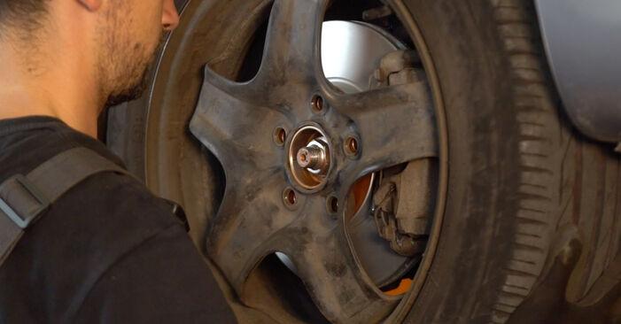 Wie schwer ist es, selbst zu reparieren: Bremssattel Zafira b a05 1.9 CDTI (M75) 2011 Tausch - Downloaden Sie sich illustrierte Anleitungen