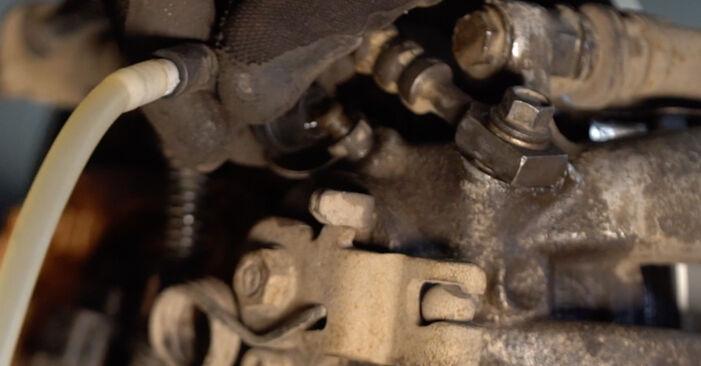 Bremsscheiben Ihres Zafira b a05 1.7 CDTI (M75) 2013 selbst Wechsel - Gratis Tutorial