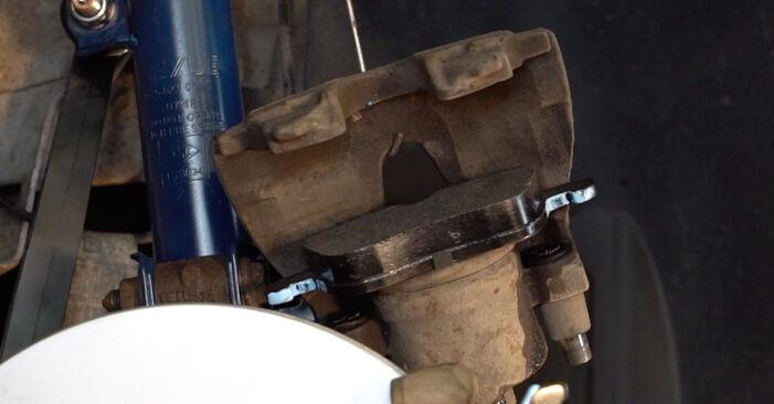 ZAFIRA B (A05) 1.6 CNG (M75) 2005 1.8 (M75) Bremsscheiben - Handbuch zum Wechsel und der Reparatur eigenständig