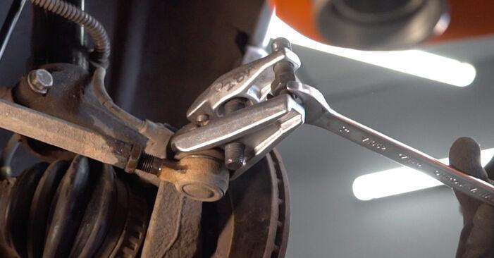 CITROËN XSARA 1.6 Spurstangenkopf ausbauen: Anweisungen und Video-Tutorials online