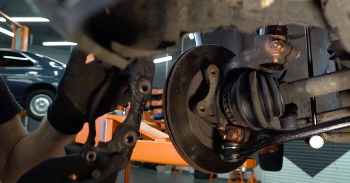 Schritt-für-Schritt-Anleitung zum selbstständigen Wechsel von Citroen Xsara Picasso 2001 1.6 16V Bremsscheiben