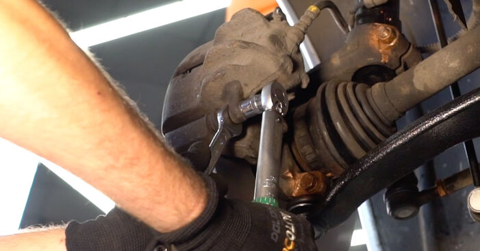 How to replace CITROËN XSARA PICASSO (N68) 2.0 HDi 1998 Brake Pads - step-by-step manuals and video guides