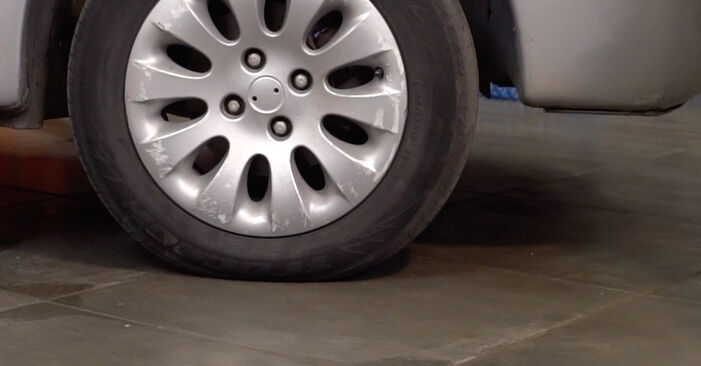 Changing of Brake Pads on Citroen Xsara Picasso 2005 won't be an issue if you follow this illustrated step-by-step guide