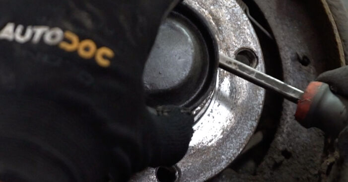 Changing of Wheel Bearing on Citroen Xsara Picasso 2007 won't be an issue if you follow this illustrated step-by-step guide