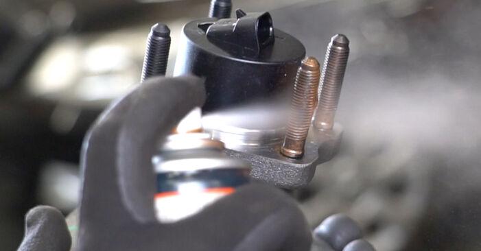 OPEL MERIVA 1.4 16V Twinport (E75) Radlager ausbauen: Anweisungen und Video-Tutorials online