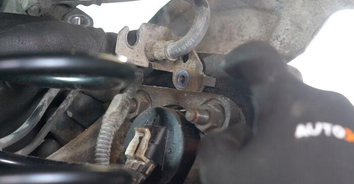 Come cambiare Cuscinetto Ruota su Opel Meriva x03 2003 - manuali PDF e video gratuiti