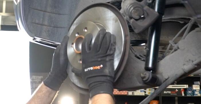 Radlager am OPEL Meriva A (X03) 1.8 (E75) 2008 wechseln – Laden Sie sich PDF-Handbücher und Videoanleitungen herunter