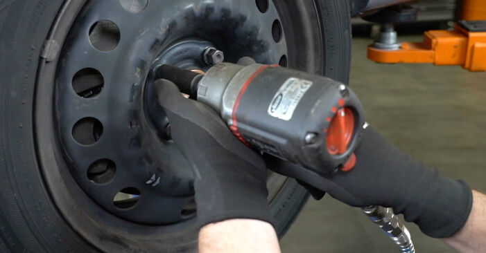 How hard is it to do yourself: Brake Pads replacement on Opel Meriva x03 1.7 DTI (E75) 2009 - download illustrated guide