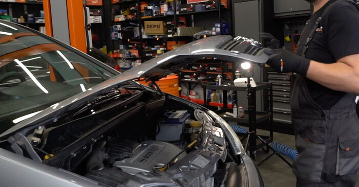Jak vyměnit Lambda sonda na Opel Meriva x03 2003 - bezplatné PDF a video návody