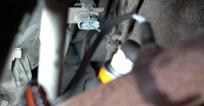 Svépomocná výměna Lambda sonda na autě Opel Meriva x03 2005 1.7 CDTI (E75)