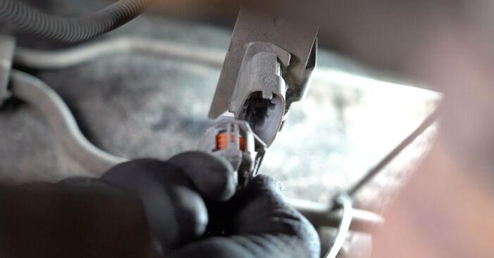 Opel Meriva x03 1.6 16V (E75) 2005 Lambda sonda výměna: bezplatné návody z naší dílny